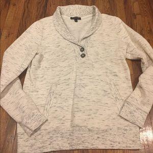 Banana Republic Button Up Sweatshirt (M)